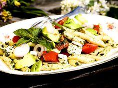 Pastasallad med fetaost och avokado (kock Per Morberg)