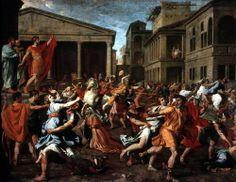 Nicolas Poussin, Rape of the Sabine Women