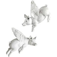 Found it at Joss & Main - 2-Piece Flying Pig Wall Decor Set