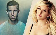 Calvin Harris e Ellie em Outside: parceria que deu certo.