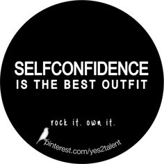 #SELFCONFIDENCE IS THE BEST #OUTFIT.  #rockit #ownit #bestoutfit #staypositive #stayinspired #staystrong #feelgood #feelfree #lovelife #livelife #keepyourheadup #beyou #beawesome #beyoutiful #nevergiveup #neverlosehope #inspiration #motivation #erfolg #success #job #career #karriere #potential #beruf #worklifebalance #livelifelaugh #laugh #learn #love #hope #behappy #smile #thinkpositive #thinkahead #thinkbig #thinkdifferent #yesyesyes #yes2talent #yes2career