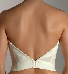"""70ea38e77c9 You Can Be Sexy """"Behind"""" the Scenes With This Wedding Lingerie Guide. Bras  For Backless ..."""