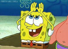 Imagination is key. | 10 Life Lessons We Learned From Spongebob