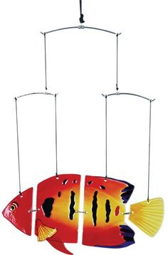 Premier Kites 81203 Suspension Fish Mobile, Flame - List price: $37.95 Price: $32.53 + Free Shipping
