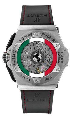 Hublot Mexico Limited Edition Big Bang Ferrari - Hautetime