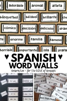 5 bundles of the best Spanish activities to keep students engaged and having fun in Spanish class. Find time saving Spanish resources & games for lesson plans Fun In Spanish, Spanish Word Wall, Learn Spanish Free, Middle School Spanish, Elementary Spanish, Spanish Words, How To Speak Spanish, Spanish Teaching Resources, Spanish Activities