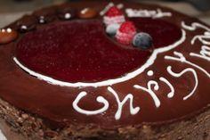 Mousse di cioccolato e cuore di pannacotta