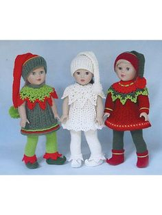 Paid and Free Crochet Patterns for 18-inch Dolls Like the American Girl Doll