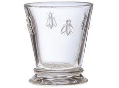 "La Rochére, France's oldest glass factory, creates the uniquely clear, brilliant glass that is a feature of the La Rochére ""Bee"" Glassware. Decorated with the Napoleonic-era bee, symbolic of industrio"