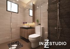 De Style Hdb Interior 3D Design 3  H  Pinterest  3D Design Custom Hdb Bathroom Design Review