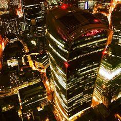 20 Fenchurch Street in the #city. #night #nightshot #nightscene #London #londonpics @london