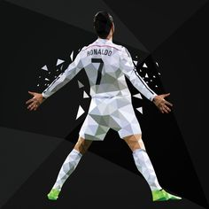 Cristiano Ronaldo 'Si' Celebration Real Madrid by TheSoccerSuite