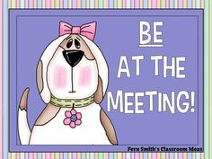 Be At the Meeting, What Does It Mean? Stop by my blog to get a few tips and tricks for surviving school meetings this year. #B2S #BacktoSchool