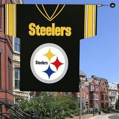 Pittsburgh Steelers 34'' x 30'' Jersey Flag