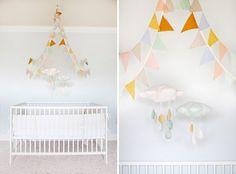 quarto bebe decorado arejado