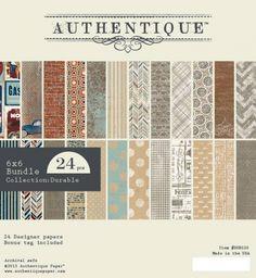 Authentique+Paper+Pad+Durable+von+Paperbasics+auf+DaWanda.com