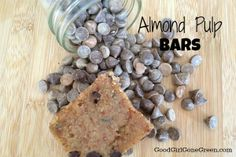 Raw Vegan Almond Pulp Bars