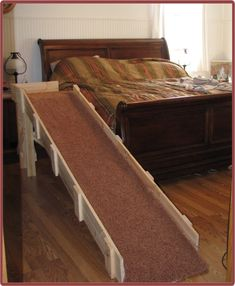 Best help I've found on building your own dog ramp!! Must make this for Bruno!