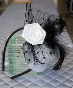 Mini hat headband