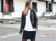 20 стильных примеров, как носить кожаную куртку
