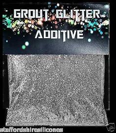 Grout glitter wall floor glass mosaic cheap tiles , silver or gold additive in Home, Furniture & DIY, DIY Materials, Adhesives & Glue Glitter Grout, Glitter Paint, Glitter Walls, Glitter Balloons, Glitter Girl, Glitter Eyeshadow, Silver Glitter, Furniture Making, Home Furniture