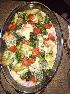 Putenschnitzel mit Brokkoli vom Blech                                                                                                                                                                                 Mehr