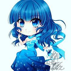Noch eine #Chibi Commission die ich mal gemacht habe :) #manga #anime #animeart_feature #digitalart #oc #fanart #animegirl #mangagirl…
