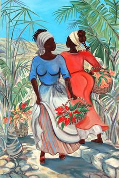 Caribbean art  by Janice Brock