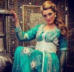 جديد القفطان المغربي بلمسة راقية   موقع شيماء