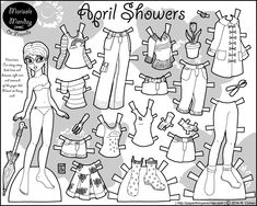 Paper Dolls!!!!! I love it! Back to my childhood. I can play with it endlessly!