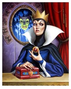 The Evil Queen by Jason Edmiston
