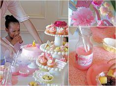 Pink   Purple Ballerina Tea Party!