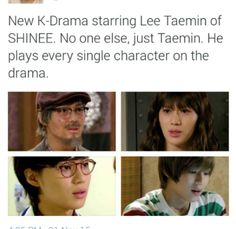 Taemin is so talented OMG I can't even explain it with words ❤