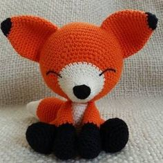 Mesmerizing Crochet an Amigurumi Rabbit Ideas. Lovely Crochet an Amigurumi Rabbit Ideas. Crochet Animal Patterns, Stuffed Animal Patterns, Crochet Patterns Amigurumi, Crochet Animals, Crochet Dolls, Crochet Fox Pattern Free, Sewing Patterns, Crochet Stuffed Animals, Amigurumi Fox