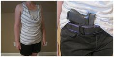 conceal carry women outfit options. conceal carry glock 19 for women, summer clothes, women and firearms, girls with guns