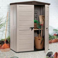 Keter 6x4 Factor Plastic Garden Shed Home Delivered
