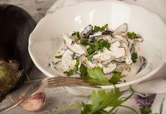 Top 13 könnyű joghurtos saláta | NOSALTY Eggplant, Salad Recipes, Cabbage, Salads, Food Porn, Meals, Chicken, Vegetables, Cooking