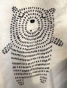 Druck & Muster - Stricken ist so einfach wie 3 Das Stricken läuft auf dre. Druck & Muster - Knitting is as easy as 3 Knitting boils down to three essential skills. Sashiko Embroidery, Embroidery Art, Cross Stitch Embroidery, Embroidery Patterns, Print Patterns, Pattern Print, Simple Embroidery, Machine Embroidery, Baby Patterns