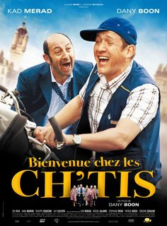 Haha, so funny! Dany Boon and Kad Merad in French cinema film Bienvenue chez les Ch'tis Film Movie, Cinema Movies, Comedy Movies, Comedy Pic, Movies And Series, Movies And Tv Shows, Hd Movie Posters, Horror, France