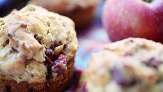 Recette: Muffins aux Pommes et aux Framboises Réduits en Sucre - Circulaire en ligne Muffin Recipes, Scones, Granola, Sweet Recipes, Biscuits, Food And Drink, Cupcakes, Sugar, Snacks