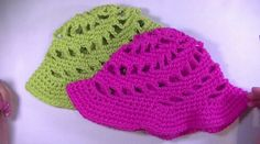 Your toddler's summer hat is almost complete! The final lesson in this series demonstrates how to crochet the brim and tie off any loose ends.
