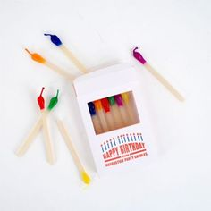 Matchstick Birthday Candles #design #packaging