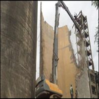 Demolition Company for High Reach Demolition Work, Demolition Contracts for demolition of buildings, plant structure house demolition and dismantling. Recycling Business, Recycled Concrete, Cooling Tower, In Mumbai, Water Tank, Building, Plants, Dunk Tank, Buildings