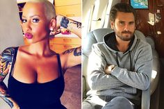 Is Amber Rose Hooking Up With Scott Disick?