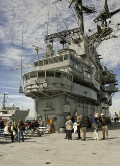 USS Hornet #6, Photochrome field trip,  Photograph by Harold Hingle