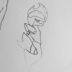 Bisharp (rough sketch) (wip), this is a tough one :( #pokemon #fanart #bisharp #rust #nintendo #nintendo3ds #sketch #doodle #art #draw #illustration #pencil #anime #manga #cartoon #videogames #sketchbook