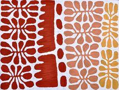 Watiya Juta by Mitjili Naparrula at the Australian Aboriginal Art Directory Gallery. Aboriginal Words, Aboriginal Artists, Painting Inspiration, Tattoo Inspiration, Arthur Boyd, Artist Bedroom, Contemporary Abstract Art, Indigenous Art, Leaf Art