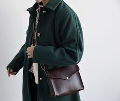Green coat womenstyle