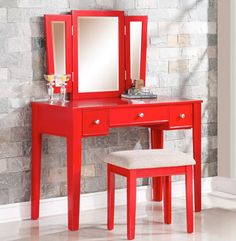 Checkout this article: Bold and Brilliant Makeup Vanity Tables #vanitytables #vanityblog