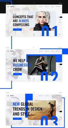 Design Web wynnr 2018 on Behance: Design Web wynnr 2018 on Behance - - Ppt Design, Layout Design, Icon Design, Design Social, Web Design Tips, Web Layout, Banner Design, Logo Design, Design Ideas